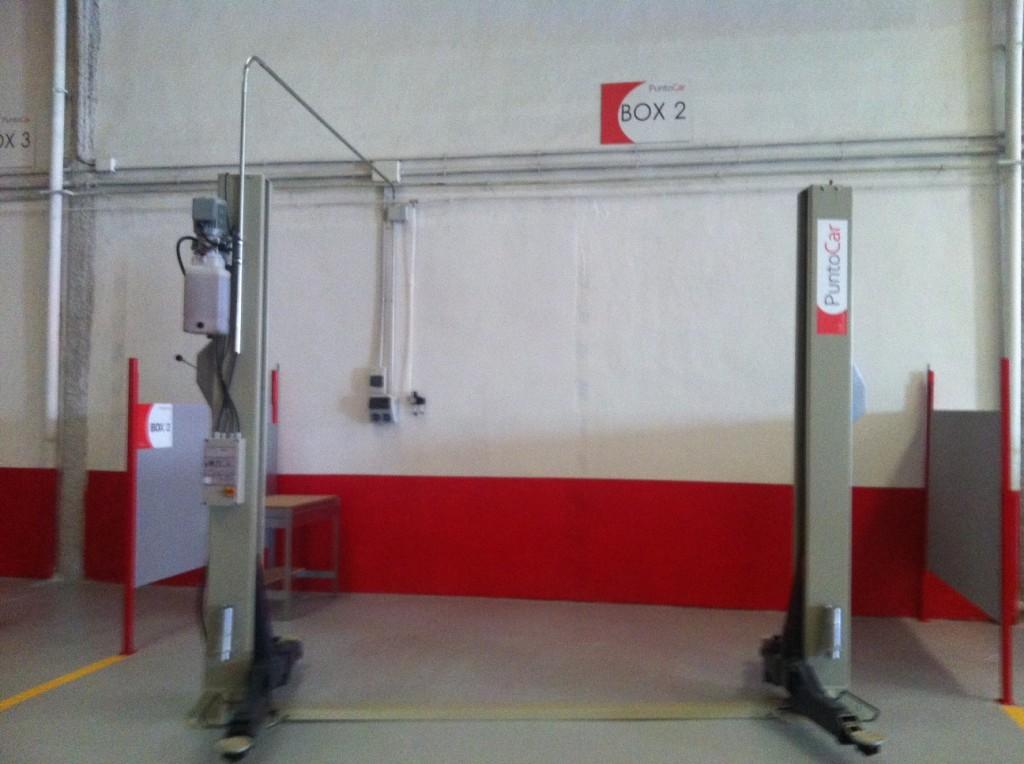 Boxes con elevador de hasta 3500 Kg.