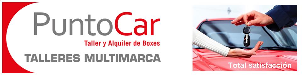 Alquiler de Boxes mecánicos PuntoCar Valencia – Taller multimarca